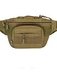 Недорогие -Поясная сумка Талия сумка / пакет для Спортивные сумки Водонепроницаемость Компактность Легкость Сумка для бега 600D Ripstop Универсальные Взрослые