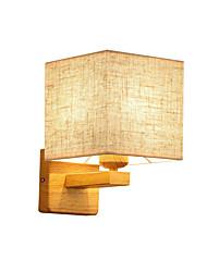 Недорогие -бра северная стена из цельного дерева прекрасный / новый дизайн современный современный / настенные светильники в северном стиле&усилитель; бра учебная комната / офис / спальня настенный