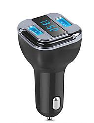 Недорогие -автомобильный GPS трекер локатор в режиме реального времени устройство слежения двойной USB автомобильное зарядное устройство вольтметр