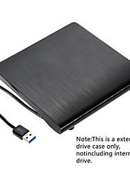 Недорогие -maikou 9.5mm dvd / cd-rom rw case корпус диска для DVD-плеера usb 3.0 sata внешний портативный корпус DVD для ноутбука MacBook PC