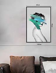 Недорогие -Отпечаток в раме Набор в раме - Люди Поп-арт Полистирен Фотографии Предметы искусства