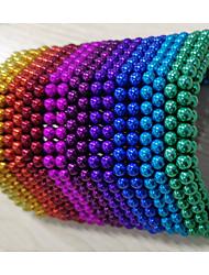Недорогие -216 pcs 3mm Магнитные игрушки Магнитные шарики Конструкторы Сильные магниты из редкоземельных металлов Неодимовый магнит Головоломка Куб Неодимовый магнит / Стресс и тревога помощи