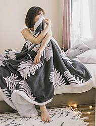 Недорогие -Одеяла / Диван Бросай / Многофункциональные одеяла, Цветочные ботанический Полиэстер / Флис Мягкость удобный одеяла