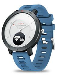 Недорогие -Zeblaze гибридный монитор сердечного ритма артериального давления в режиме реального времени температура цель напоминания двойной режим механические руки умные часы
