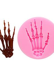 Недорогие -1шт силикагель 3D Halloween Своими руками Для приготовления пищи Посуда Формы для пирожных Инструменты для выпечки