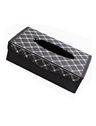 Недорогие -творческий складной автомобиль кожаная коробка ткани украшения автомобиля держатель салфетки бумажная коробка для полотенец модели складной ткани коробка
