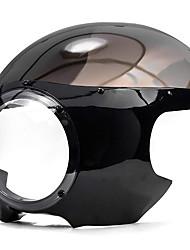 Недорогие -для Harley Dyna Sportster 883 1200 черный 5 3/4 гонщик фар обтекатель