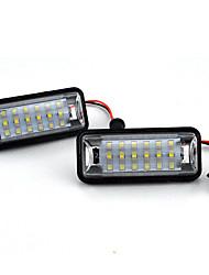 povoljno -2pcs / set auto led broj svjetla registarske tablice 12v za toyota ft-86