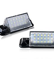 povoljno -2pcs / set led svjetla registarske tablice za bmw e36 318is 318ti