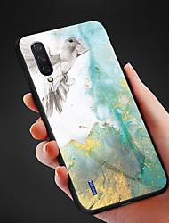 Недорогие -Чехол для телефона из мрамора с рисунком из закаленного стекла для xiaomi mi cc9e cc9 mi 9 se mi 9 mi 9t pro mi 9t mi max 3 противоударная задняя крышка tpu soft edge
