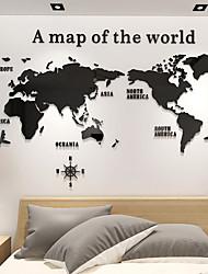 Недорогие -3d акриловый мир мапо