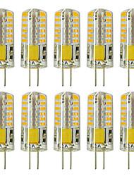 Недорогие -zdm 10шт g4 5w 3014 x 48 светодиодных ламп белого света ac12v без диммирования, эквивалентных 20w-25w t3 замена галогенной гусеничной лампы светодиодные лампы