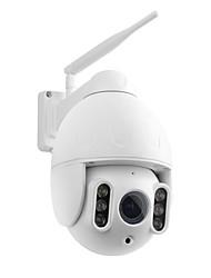 Недорогие -Wanscam K64A 1080 P PTZ IP-камера 16-кратный зум FHD Распознавание лиц Автоматическое слежение Купол Wi-Fi Беспроводная двусторонняя аудиосвязь Цветное ночное видение Обнаружение движения ip66