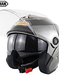 Недорогие -зоман двойные козырьки мотоциклетный шлем унисекс мотоцикл велосипедный шлем электродвигатели крышки sm517