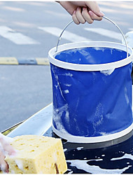 Недорогие -13л мыть машину складной ковш легко носить с собой темно-синий