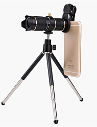 Недорогие -универсальный клип hd15x зум сотовый телефон телескоп объектив телеобъектив внешний смартфон объектив камеры для iphone samsung huawei