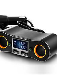 Недорогие -прикуриватель автомобиля два порта прикуривателя двойное зарядное устройство usb вспомогательное оборудование освещения сигарет modelsznb02 прикуриватель