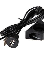 Недорогие -Водонепроницаемый скрытого монтажа USB-адаптер док-панели Пан USB 3.0 порт удлинитель между мужчинами и женщинами длина2 метра