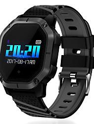Недорогие -K5 умные часы ip68 водонепроницаемый кровяное давление bluetooth цветной экран спорт умный браслет фитнес человек smartwatch