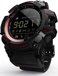 Недорогие -lokmat mk16 мужчины женщины smartwatch android ios bluetooth водонепроницаемый спортивные интеллектуальные таймер информации секундомер шагомер вызов напоминание активность трекер