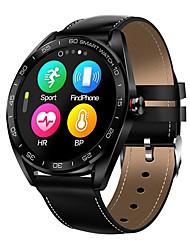 Недорогие -Смарт Часы Цифровой Современный Спортивные Натуральная кожа 30 m Защита от влаги Пульсомер Bluetooth Цифровой На каждый день На открытом воздухе - Черный Коричневый