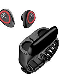 Недорогие -Умные часы 2in1 с вахтой монитора сердечного ритма кровяного давления наушника bluetooth