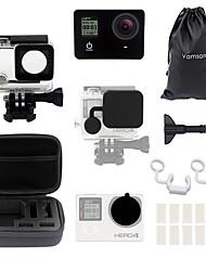 Недорогие -Водонепроницаемые кейсы Кейс Защита от влаги Водонепроницаемый футляр Для Экшн камера Gopro 4 Gopro 3+ Разные виды спорта Ныряние / гребля Виндсерфинг ABS + PC