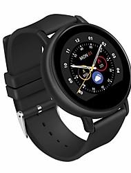 billige -lgyd s666 ip67 vandtæt 1,22 tommer smart ur med silikone rem ips display understøtter Bluetooth opkald& pulsmåling