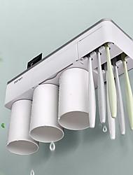 Недорогие -творческий рот чашки набор зубной щетки держатель магнитной щетки держатель чашки зубной прибор пара зубная щетка хранения стеллаж полка