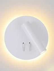 Недорогие -современный простой квадратный настенный светильник светодиодный настенный светильник скрытого монтажа головы регулируемое настенное освещение
