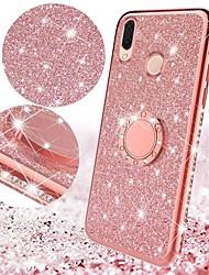 Недорогие -Блеск алмаза, покрытый металлом, мягкий тпу, чехол для Xiaomi Mi 9 se mi 9 mi 8 lite mi 8 mi max 3 mi 6x mi 6 redmi note 7 note 5 pro redmi 6 pro redmi 6a redmi 6 магнитный палец 360 кольцо