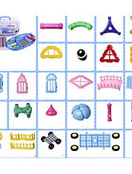 Недорогие -Магнитный конструктор Магнитные палочки Конструкторы Playsets автомобиля Игрушки Fun & Whimsical Универсальные Игрушки Подарок
