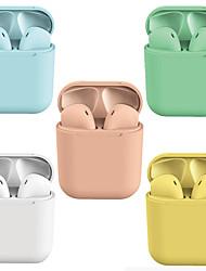 Недорогие -litbest lx-lpc новые i12 inpods tws истинные беспроводные наушники macaron с несколькими вариантами цвета Наушники bluetooth 5.0 выскакивают для ios с микрофоном hands free