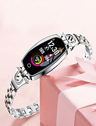 billige -2019 nye fitness tracker vandtæt smart ur pedometer h8 farve skærm blodtryk / hjertefrekvens monitor smart armbåndsur
