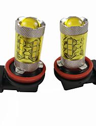 Недорогие -otolampara 99% моделей автомобилей подходит pgj19-1 pgj19-5 pgj19-2 3000k светодиодные противотуманные фары