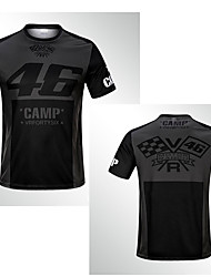Недорогие -новый 2019 тонкий 46 лагерь быстросохнущий внедорожный мотоцикл езда с короткими рукавами гоночный рыцарь быстросохнущий дышащий мотоцикл мужская футболка moto gp