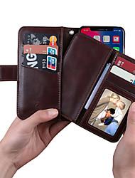 Недорогие -MUSUBO Портативный противоскользящий бизнес-чехол для Apple iPhone iphone xs / iphone x / iphone 6 / 6s с магнитным съемным корпусом для всего автомобиля для iPhone 6 plus / 6s plus