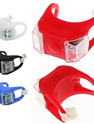 Недорогие -Светодиодная лампа Велосипедные фары Налобные фонари Задняя подсветка на велосипед LED Горные велосипеды Велоспорт Велоспорт Водонепроницаемый LED CR2032 * Батарея Белый Красный Синий / IPX 6