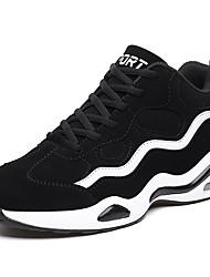 Недорогие -Муж. Комфортная обувь Синтетика Весна лето На каждый день Спортивная обувь Черный / Черно-белый / Черный / Красный