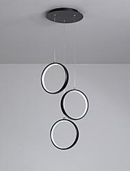 Недорогие -3-Light Круглый Подвесные лампы Рассеянное освещение Окрашенные отделки Металл Регулируется, LED 110-120Вольт / 220-240Вольт Теплый белый / Холодный белый