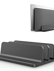 Недорогие -вертикальная подставка для ноутбука двойная настольная подставка с регулируемой док-станцией (до 17,3 дюйма)