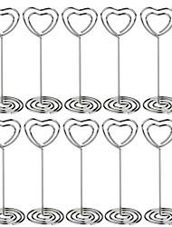Недорогие -Держатели для карточек / Свадебные украшения Для вечеринок / фестиваль Свадьба / Сердце Все сезоны