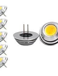 Недорогие -5 шт. 2 W Двухштырьковые LED лампы 120 lm G4 1 Светодиодные бусины COB Декоративная Милый Тёплый белый Холодный белый 12 V