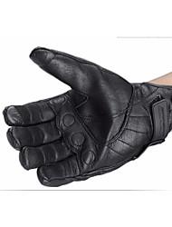 Недорогие -сенсорный экран для мотоциклетных перчаток зимой езда кожаные перчатки осень и зима стиль без отверстий