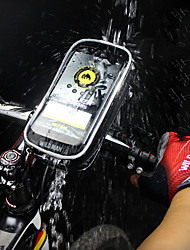 Недорогие -Сотовый телефон сумка Бардачок на раму 6.3 дюймовый Сенсорный экран Велоспорт для Велосипедный спорт Черный Шоссейный велосипед Велосипедный спорт / Велоспорт Складной велосипед