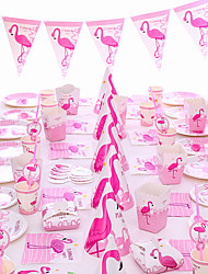 Недорогие -Для вечеринок / День рождения Аксессуары для вечеринок Орнаменты Планка пластик / Чистая бумага Классика / Креатив / День рождения