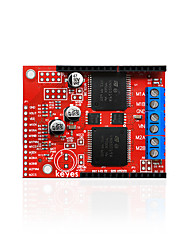 Недорогие -keyes vnh5019 плата расширения двухстороннего моторного привода красная защита окружающей среды