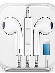 Недорогие -проводные гибридные стереонаушники-вкладыши для iphone 7 8 plus x xr xs max наушники с микрофоном и проводным управлением звуком