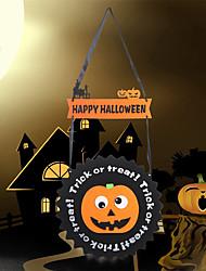 Недорогие -Хэллоуин украшения из войлока ткани висит Хэллоуин украшения из призрака тыквы орнамент из ткани войлока