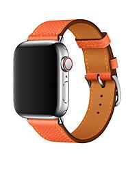 Недорогие -Ремешок для часов для Apple Watch Series 4/3/2/1 Apple Бизнес группа Натуральная кожа Повязка на запястье